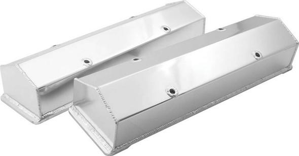 Valve Covers SBC Fab Aluminum w/o Tubes ALL26170 Allstar Performance