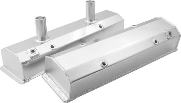Valve Covers SBC Fab Aluminum w/Tubes ALL26171 Allstar Performance
