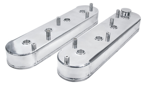 Valve Covers LS Fab Aluminum w/ Coil Mount ALL26211 Allstar Performance