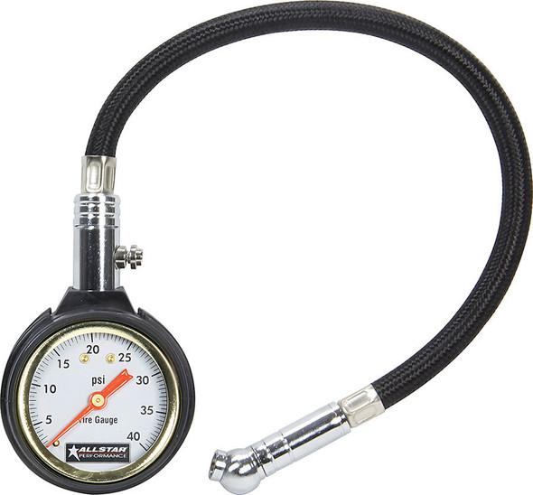 Tire Pressure Gauge 0-40 PSI ALL44077 Allstar Performance