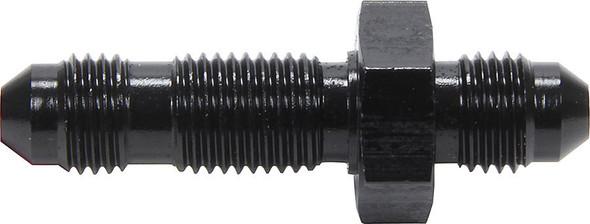 Straight Bulkhead Black -4 ALL50093 Allstar Performance