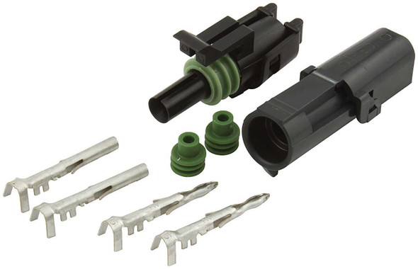 1-Wire Weather Pack Connector Kit ALL76265 Allstar Performance