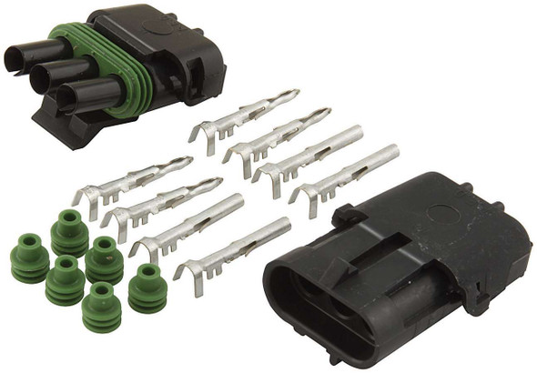 3-Wire Weather Pack Connector Kit ALL76267 Allstar Performance