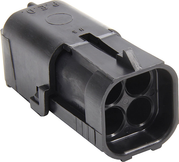 4 Pin Weather Pack Square Shroud Housing ALL76297 Allstar Performance
