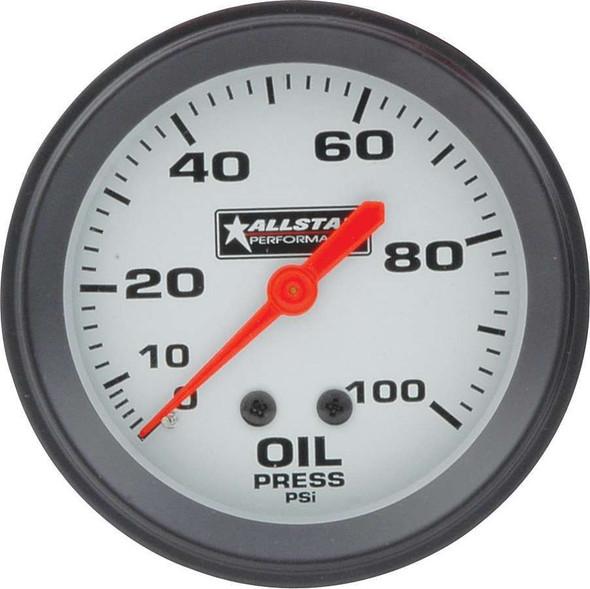 ALL Oil Pressure Gauge 0-100PSI 2-5/8in ALL80095 Allstar Performance