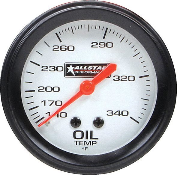 ALL Oil Temp Gauge 140-340F 2-5/8in ALL80097 Allstar Performance