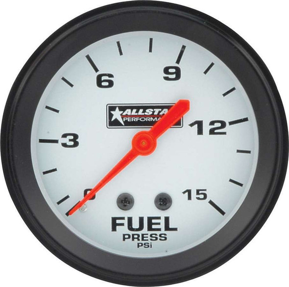 ALL Fuel Pressure Gauge 0-15PSI 2-5/8in ALL80098 Allstar Performance