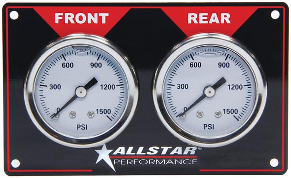 Brake Bias Gauge Panel Horizontal ALL80172 Allstar Performance