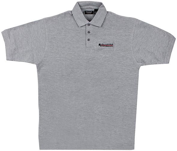 Allstar Golf Shirt Dark Gray Large ALL99911L Allstar Performance