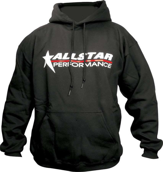 Allstar Hooded Sweatshirt X-Large Black ALL99913XL Allstar Performance