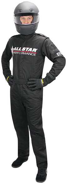 Allstar Race Suit Black XL Short 1pc 2 Layer ALL99849 Allstar Performance