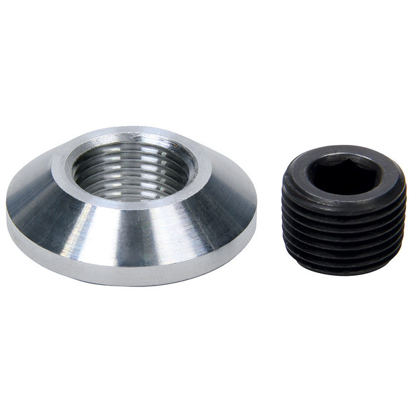 Drain Plug Kit 3/8in NPT Aluminum Bung ALL50732 Allstar Performance