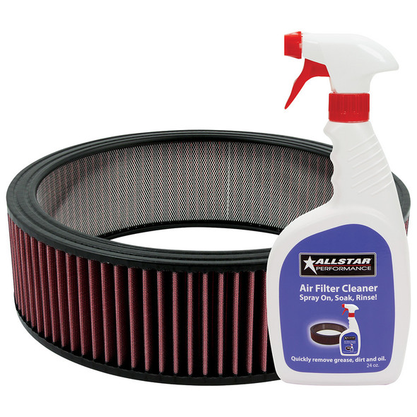 Washable Element 14x4 with Cleaner Kit ALL26002K Allstar Performance