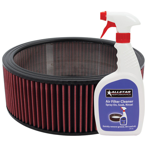 Washable Element 14x5 with Cleaner Kit ALL26004K Allstar Performance