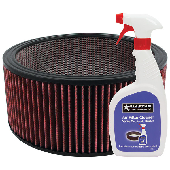 Washable Element 14x6 with Cleaner Kit ALL26006K Allstar Performance