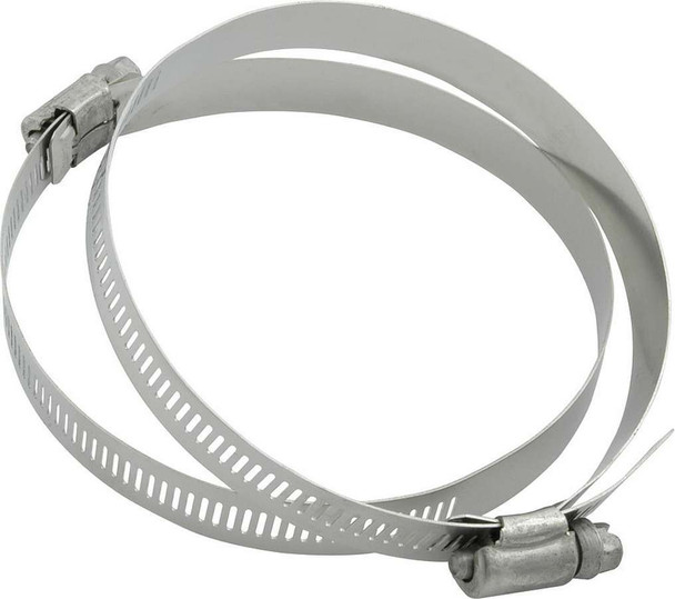Hose Clamps 3-1/2in OD 2pk No.48 ALL18340 Allstar Performance