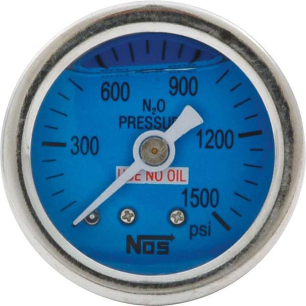 1.5 Gauge 0-1500PSI NOS Liquid Filled ALL80208 Allstar Performance