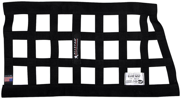 Window Net Border Style Funny Car Black SFI ALL10291 Allstar Performance