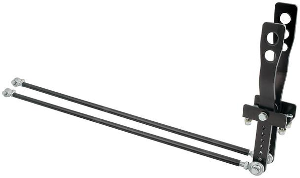 2 Lever Shifter Black Unequal Length Handles ALL54124 Allstar Performance