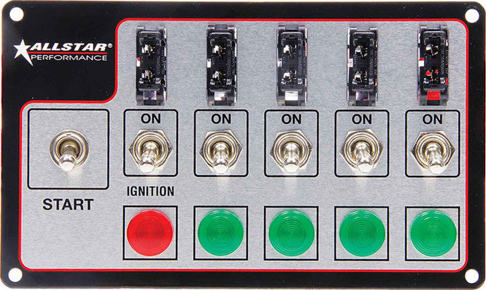 Fused Switch Panel ALL80138 Allstar Performance