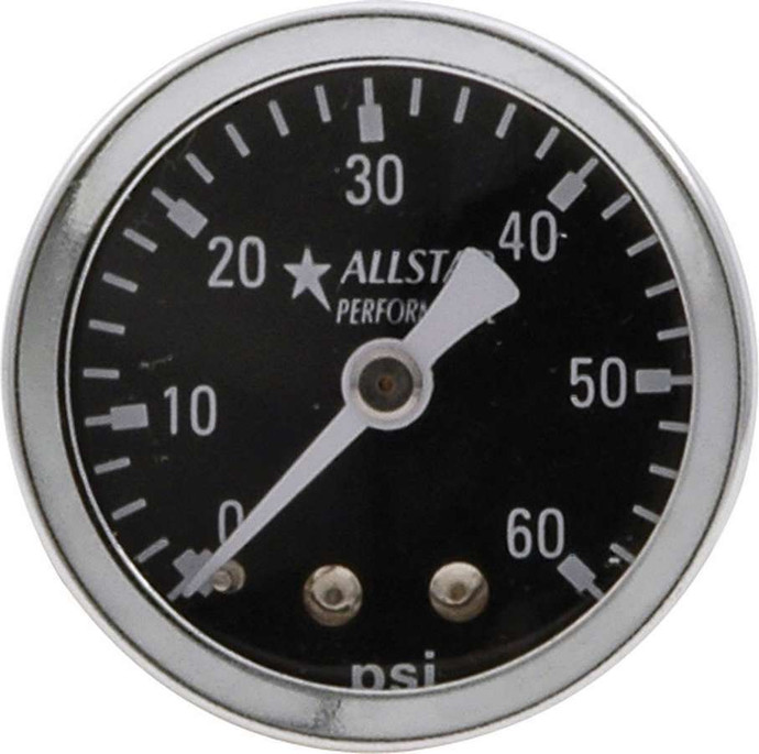 1.5in Gauge 0-60 PSI Dry Type ALL80214 Allstar Performance