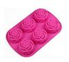 Rose Silicone Baking Tray