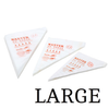 Master   Large Tipless Disposable pipping bag  100pc