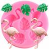 Mini Flamingo And Plam Mold