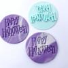 Happy  Halloween  Fondant /Cookie Embosser