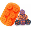 Halloween pumpkin  silicone mold baking tray (fits rice crspy and oreos?