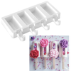 New Popsicle  Cake Slice  Ice Cream Silicone Mold  Middle fill