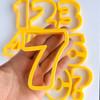 Number set  Cookie/ Fondant cutter
