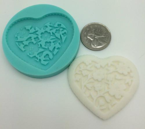 Heart Fancy Mold  PM365