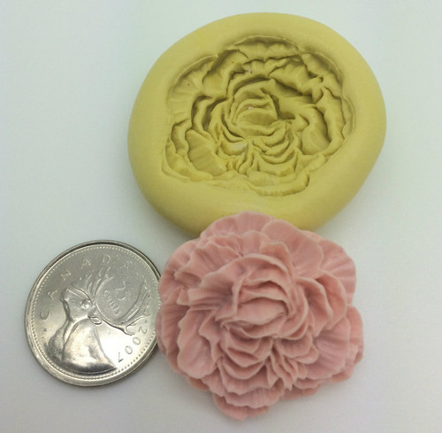 Peony Flower Silicone Mold