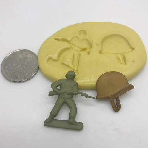 Army Man Set Silicone  mold