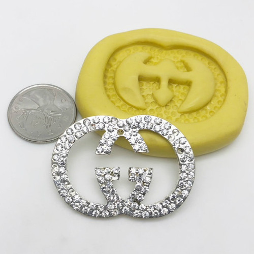 Large G  Silicone Mold