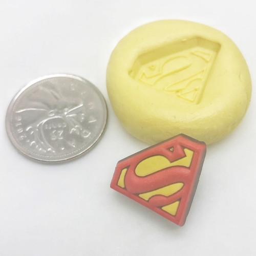 Mini Super Man Mold  Silicone