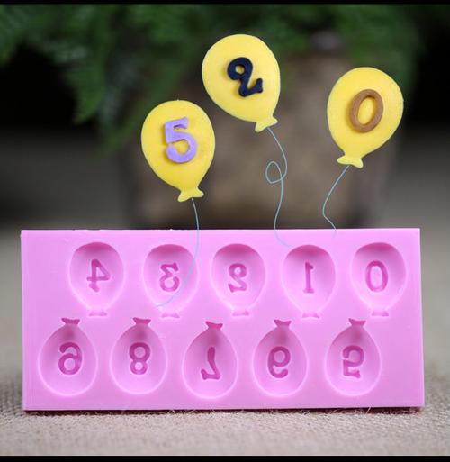 Balloon Number Set 0-9 PM148