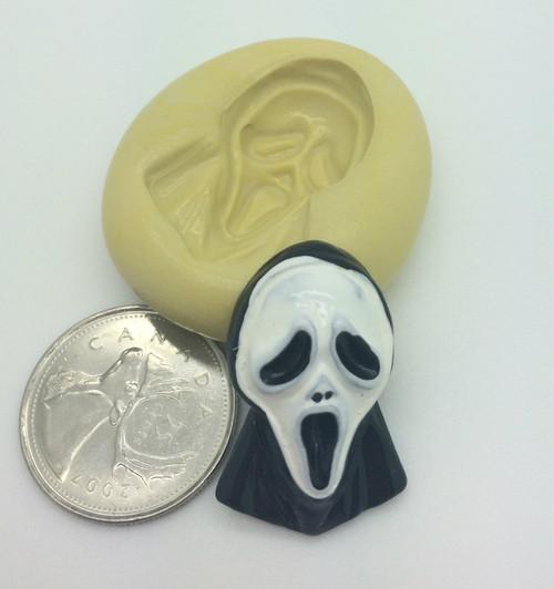 Scream Ghost Face  Silicone Mold
