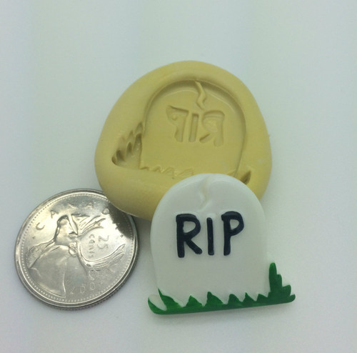 Tombstone  Silicone Mold