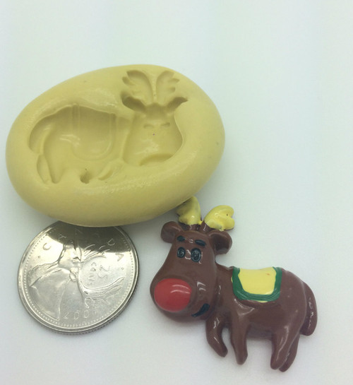 Reindeer Silicone Mold