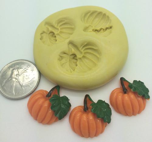 Pumpkin Mold Set   Silicone Mold
