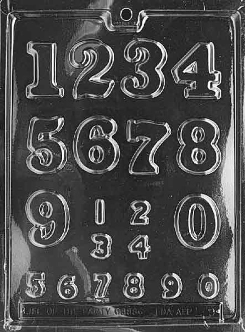 NUMBERS - LARGE, SMALL -252
