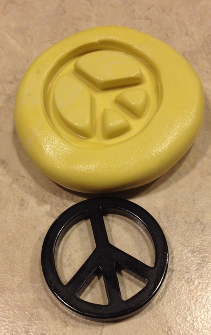 Peace Sign Mold Silcione Mold
