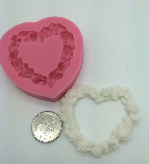 Heart frame Mold PM305