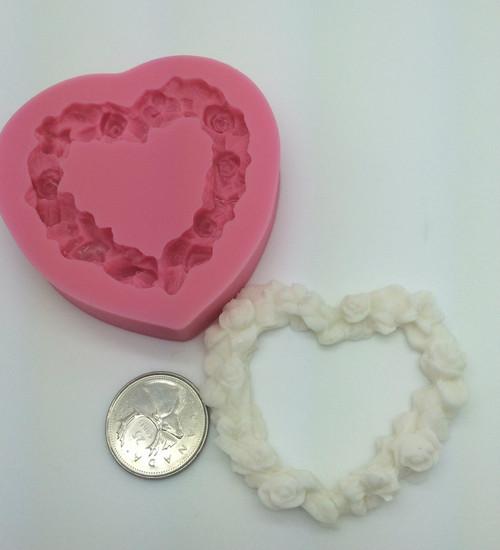 Heart frame Mold PM305