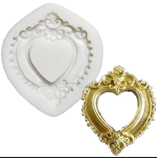 Heart Frame Mold -PM293