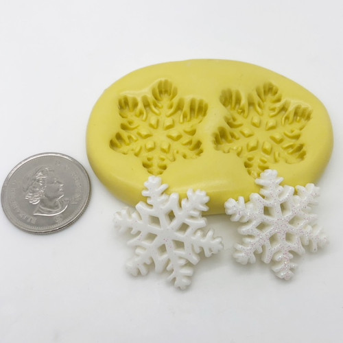 Medium Snowflake  Mold Set