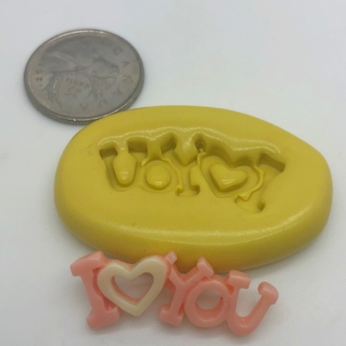 I Love You Mold Silicone