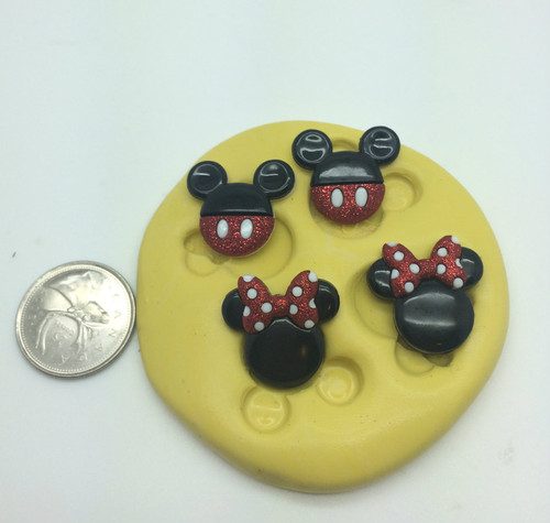 Mouse Set  Silicone Mold
